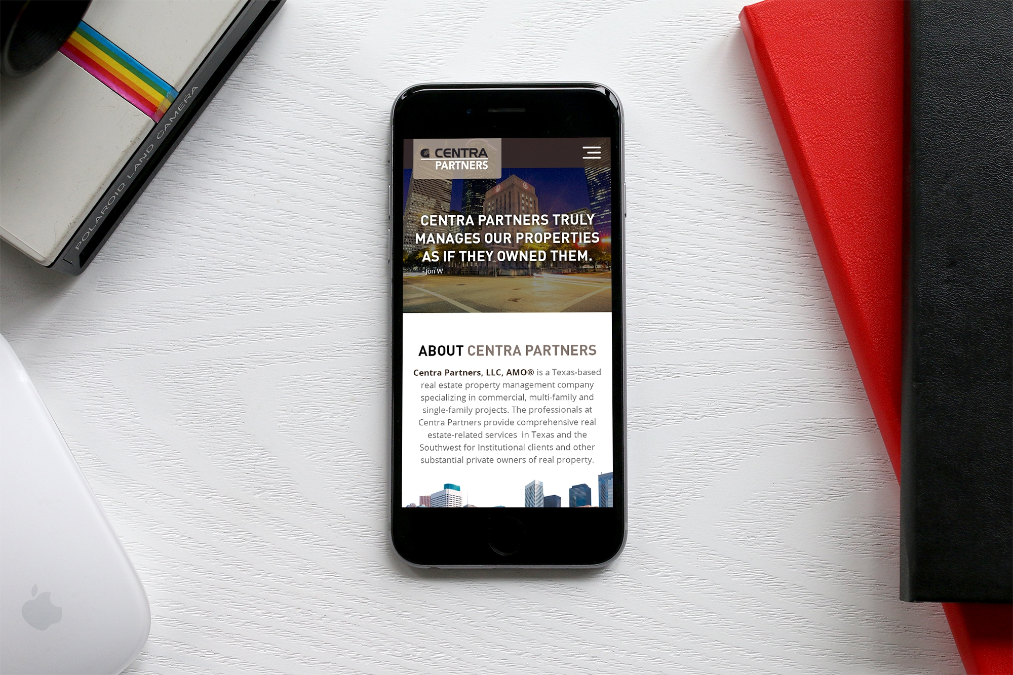 Responsive Apartment Website Design