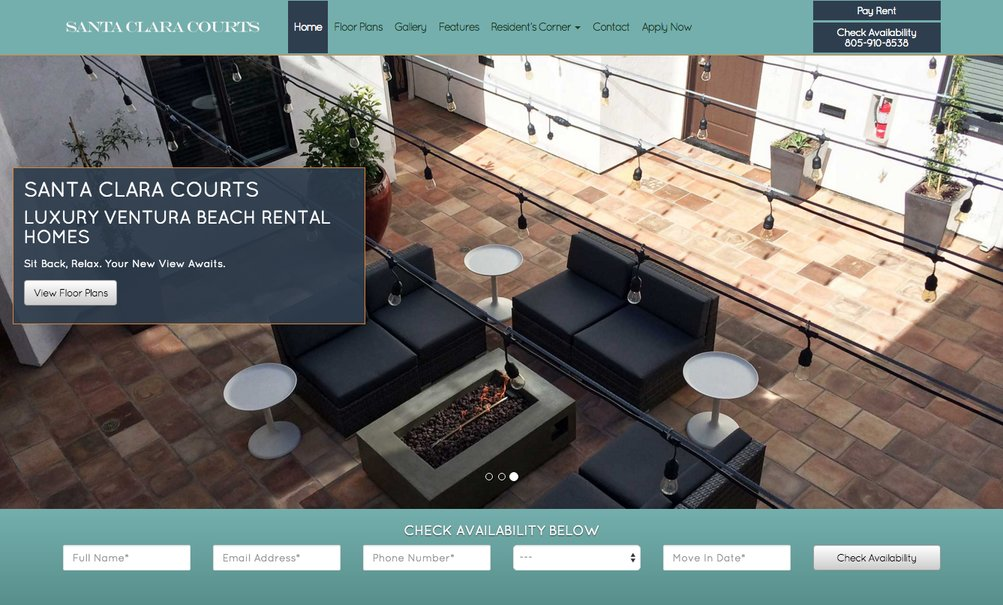 Responsive Apartment Websites