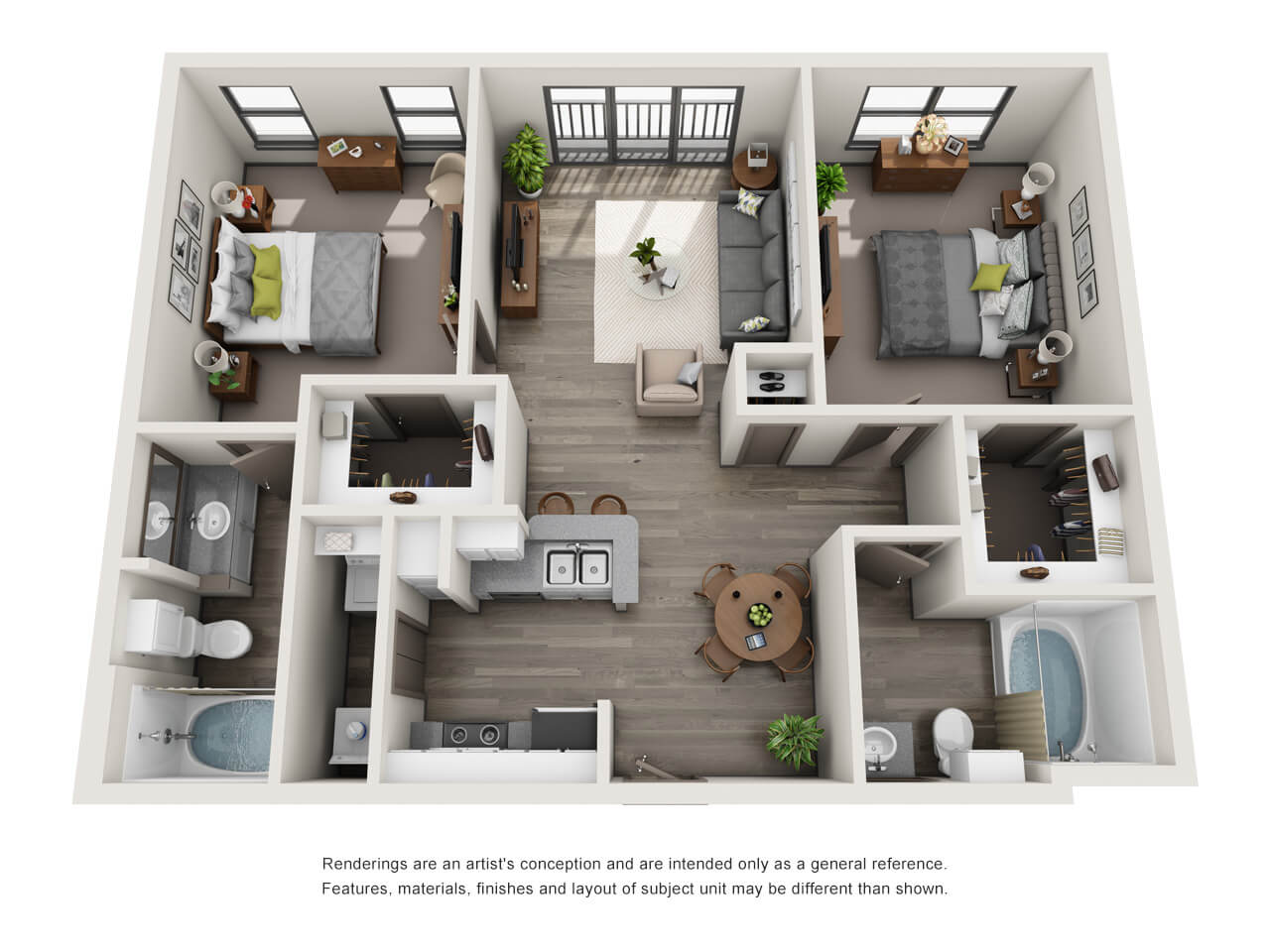 carter haston 3d floor plans - Apartment Website Design