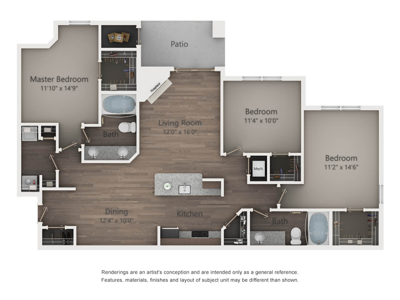 lincoln property company 2d floor plans - Apartment Website Design
