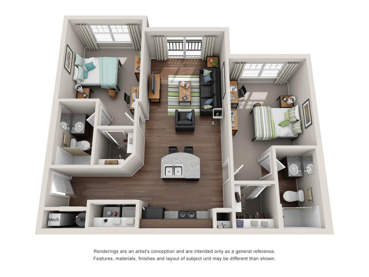 apartment website design 2017 - get inspired!