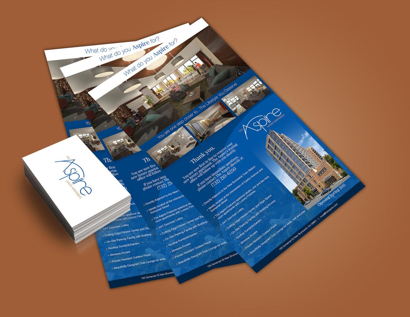 the aspire brochure
