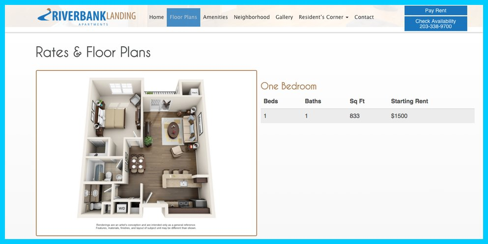 3D Floor Plans Apartments