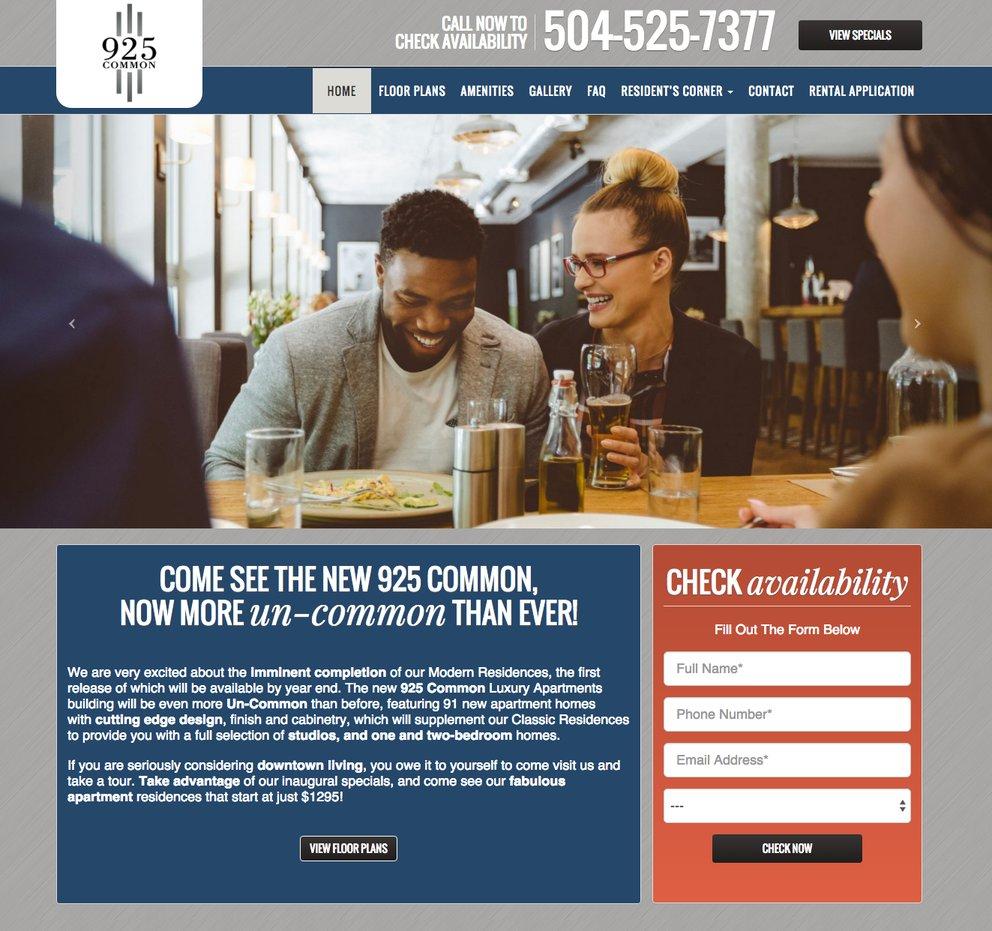 Bold Typography - Web Design Trend