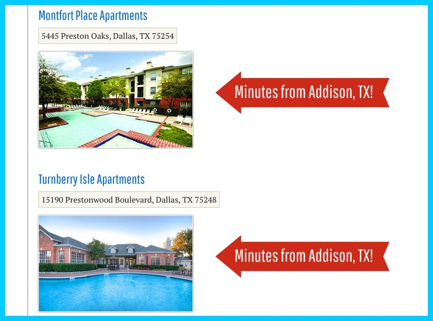 Thank You Page Referrals - Apartment Marketing Ideas