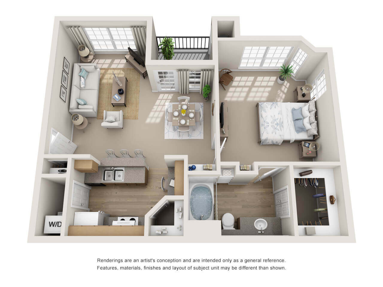 Steadfast Management - 3D Floor Plans - Resident360