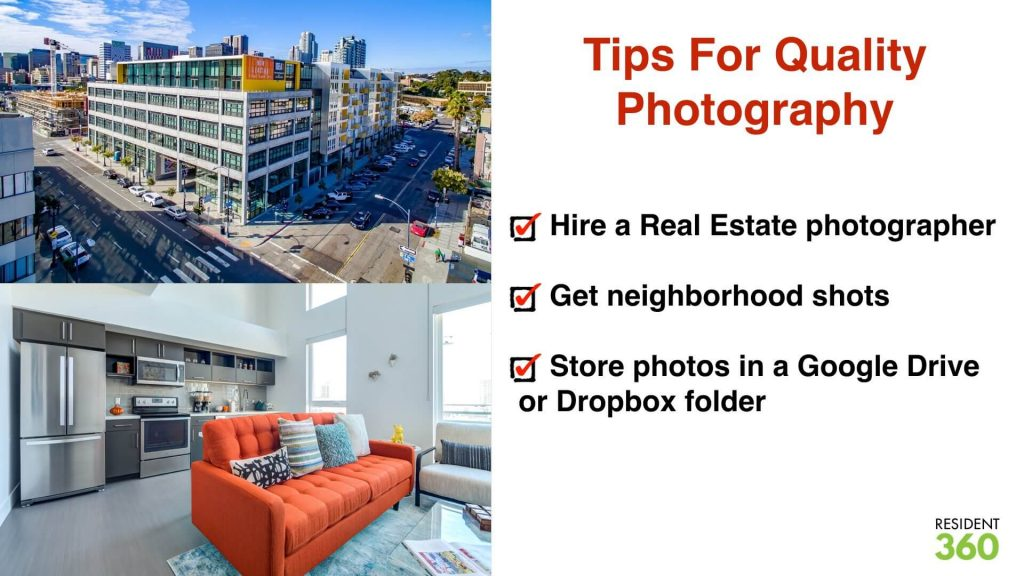 Photography Tips for Apartment Marketing