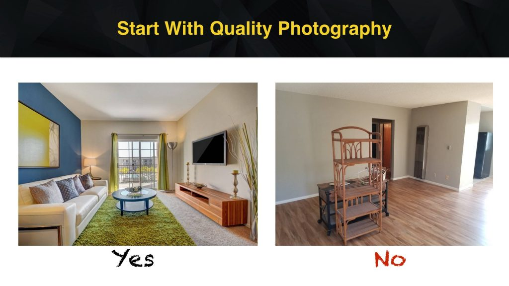 Photography Apartment Marketing Ideas