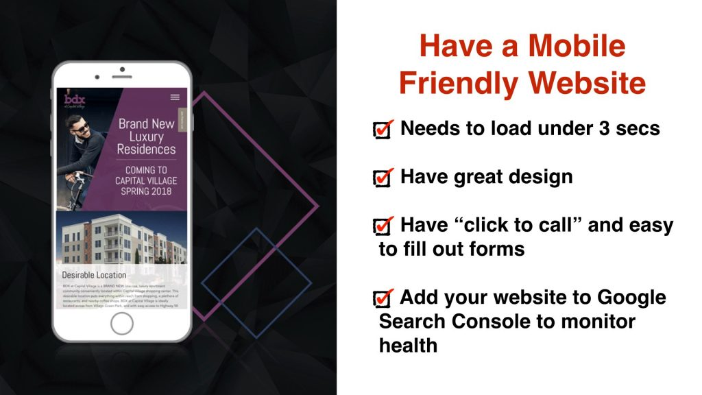Have a Responsive Website