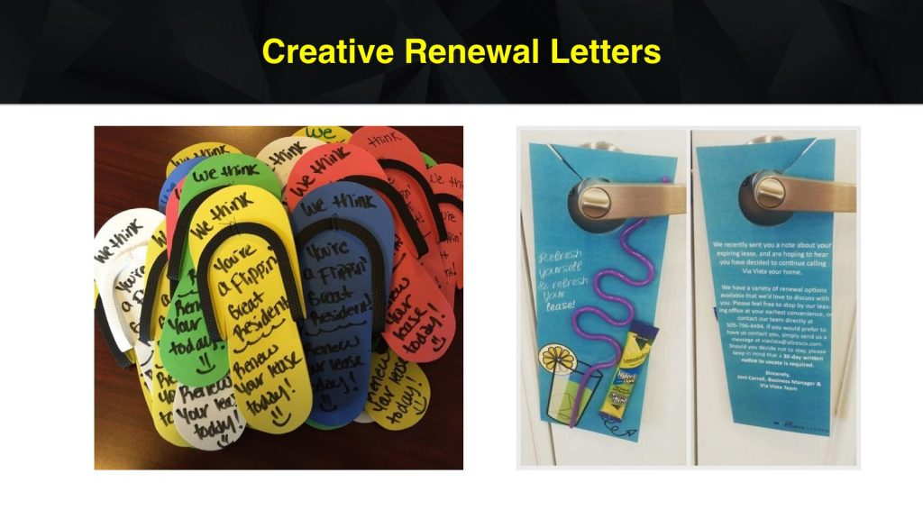 Apartment Marketing Ideas for Renewal Letters