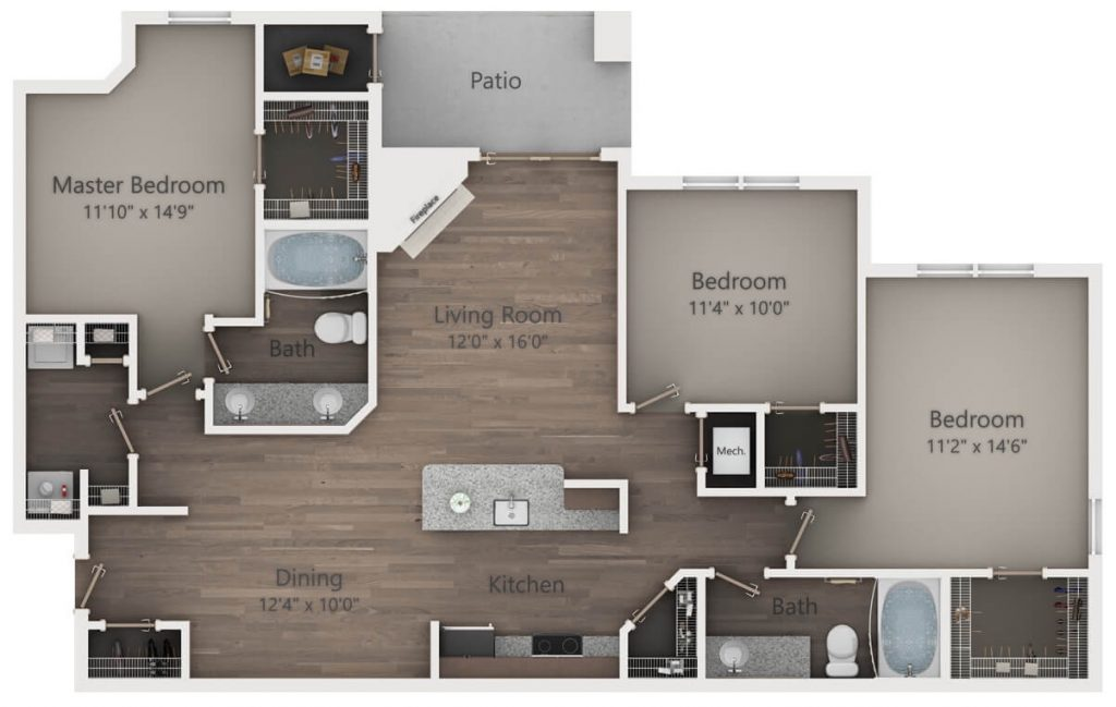 How Creative Can You Get With Your Apartment Floor Plans ...