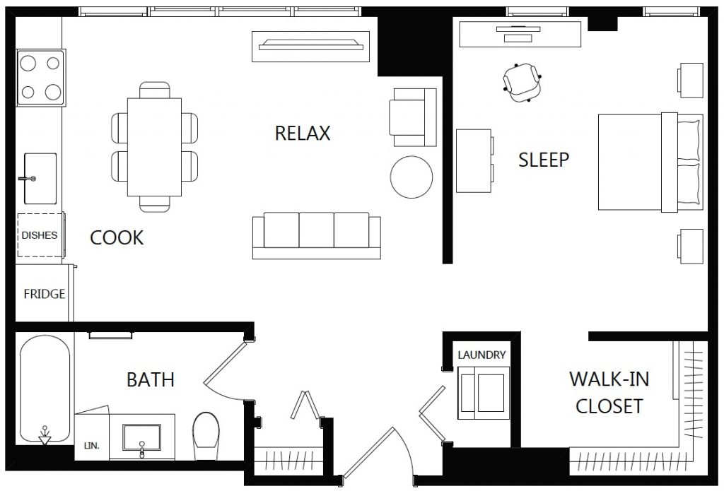 2D Basic Floor Plan