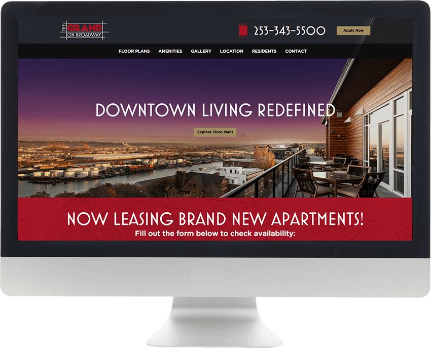 Resident360 Best Apartment Website Design
