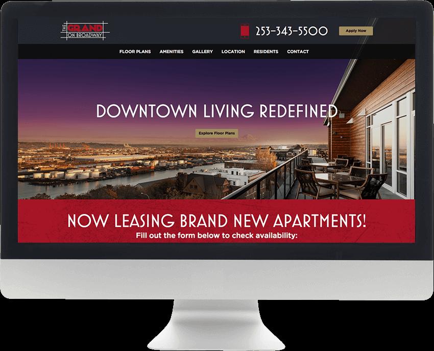 Apartment Website Design Resident48 Unique Apartment Website Design