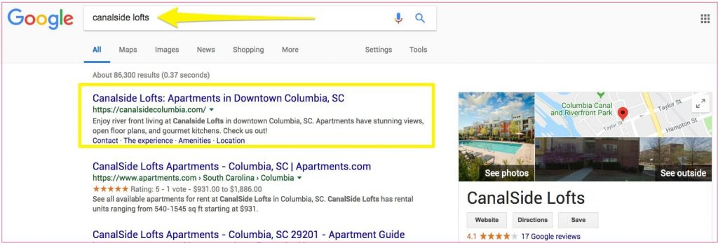 On Page SEO For Apartments