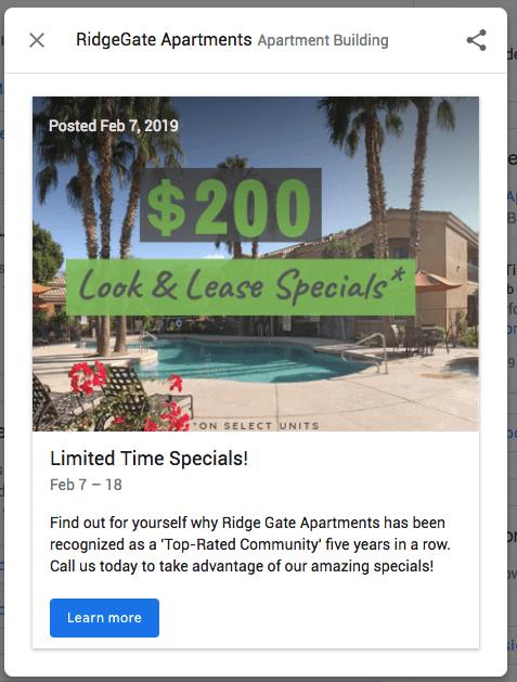 $200 Promo Post Idea