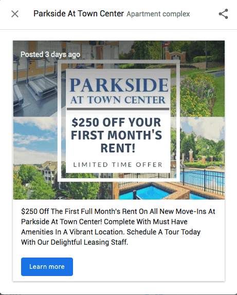 Save on Rent Special