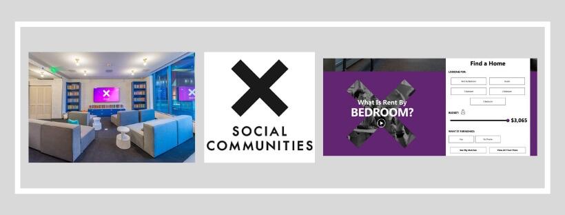 X Apartment Branding