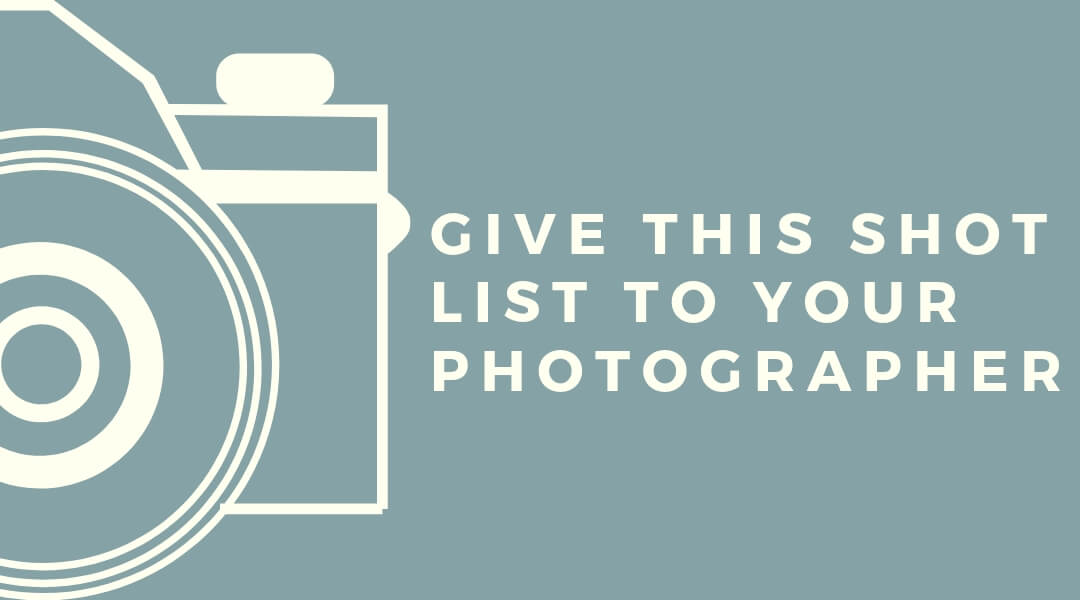 Apartment Photography Shot List