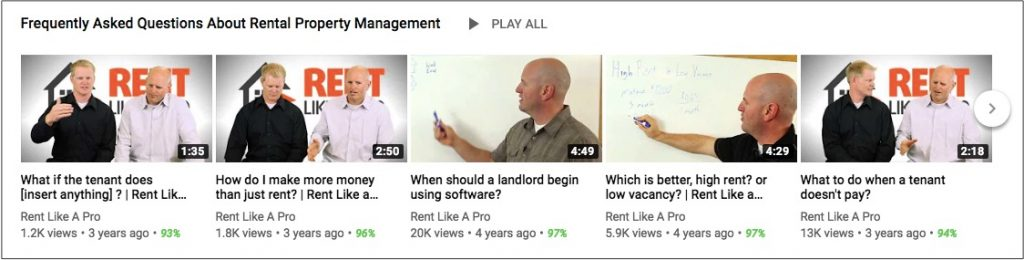 Property Management Marketing Ideas for Video