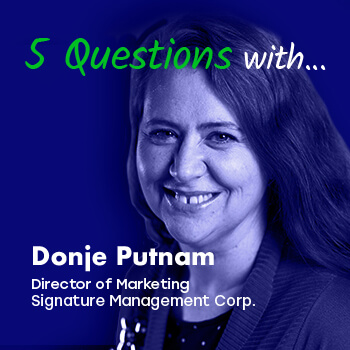 More Than Marketing Presents: 5 Questions with Donje Putnam, Director of Marketing