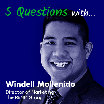 More Than Marketing Presents: 5 Questions with Windell Mollenido, Director of Marketing