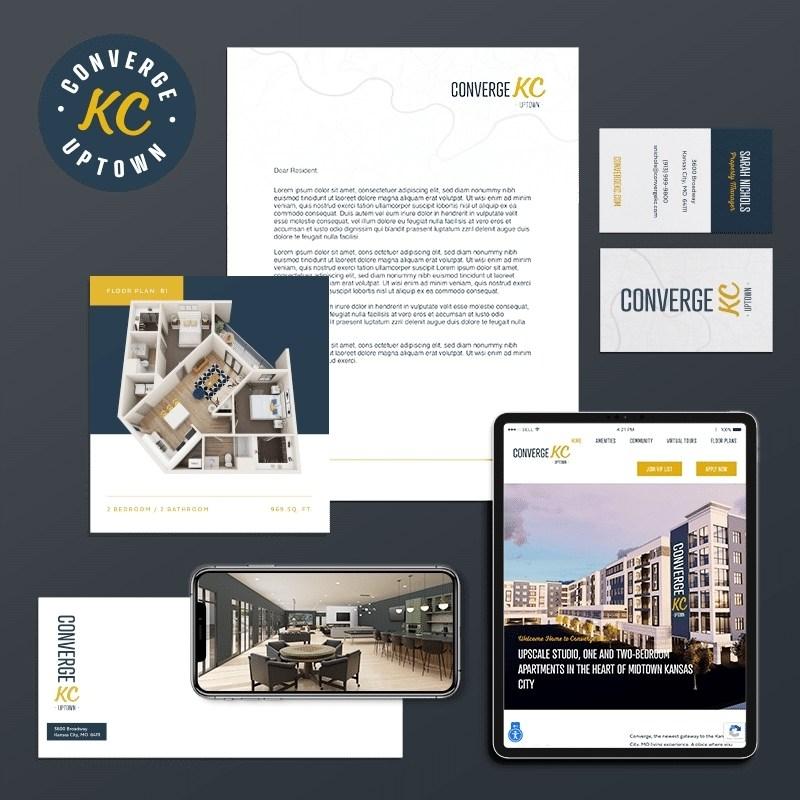 Multifamily Branding Agency for ConvergeKC