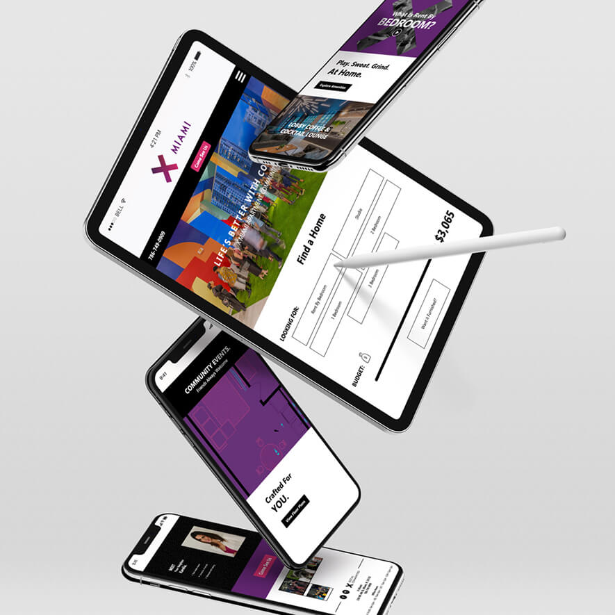 Responsive Apartment Website Design & Development